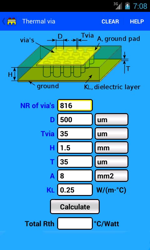 Pcb Thermal Calc
